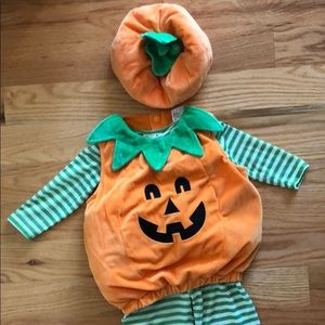 12-18M Pumpkin Costume